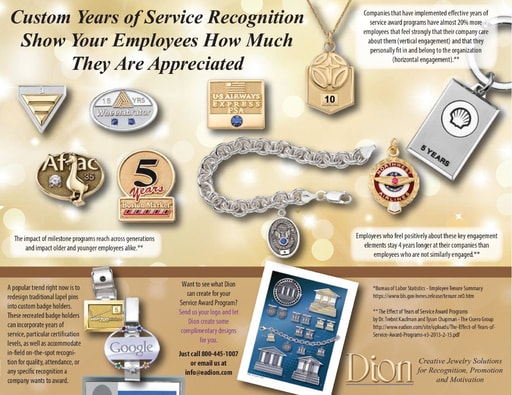 Years of Service Award Recognition